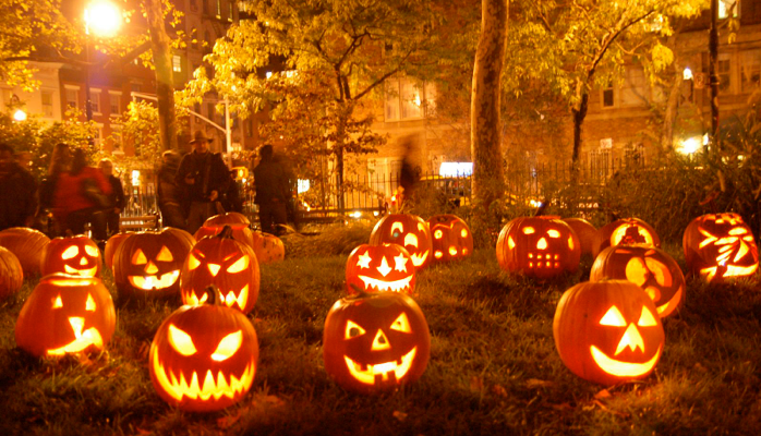 The scary origin of Halloween - Quick Cargo Service UK